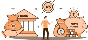 Debt Fund vs Fixed Deposit. Which is a better investment option?