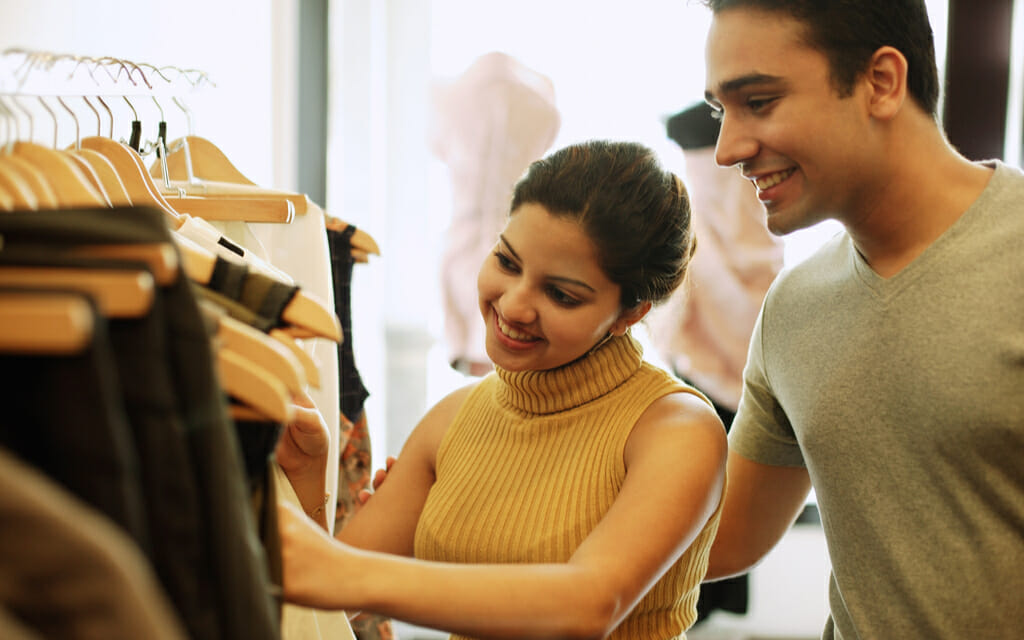 Are you spending too much on your wardrobe?