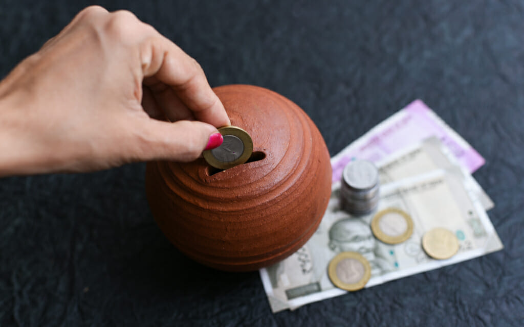 What saving Rs 1000 a month is worth?