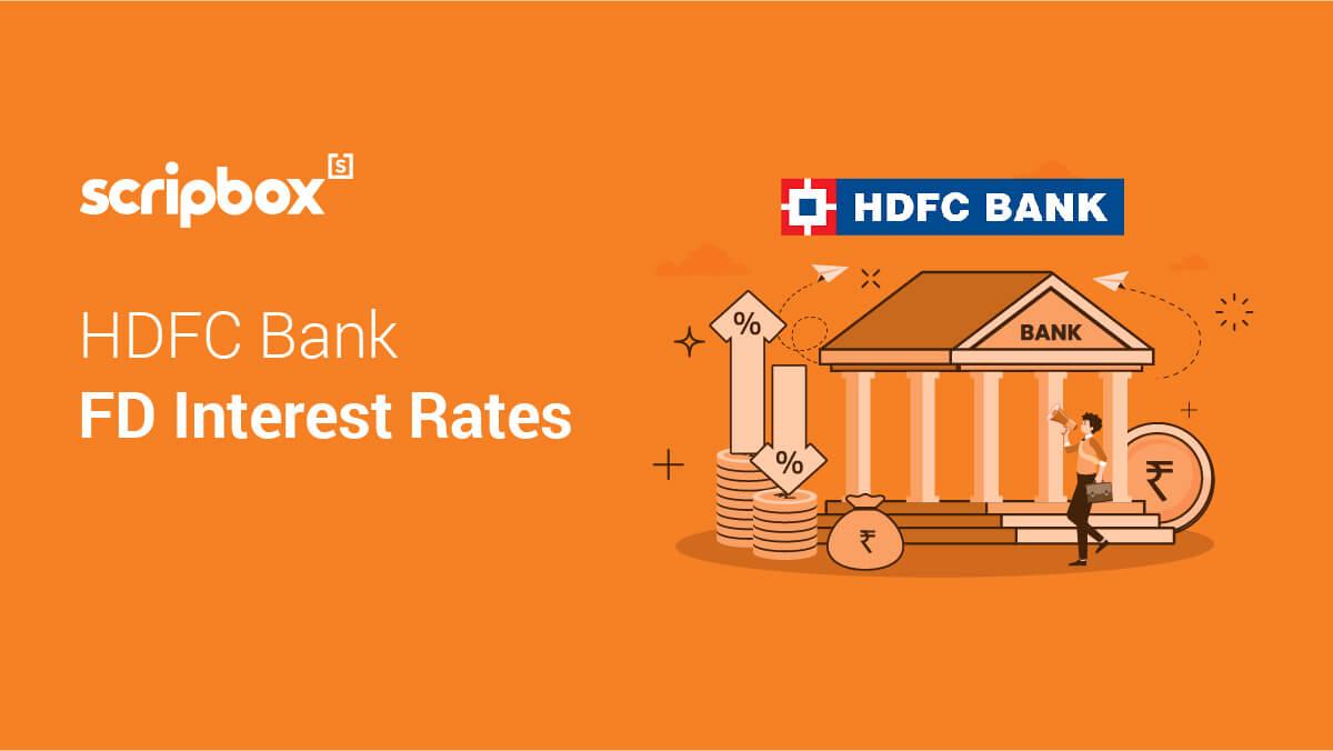 HDFC Bank FD Interest Rates