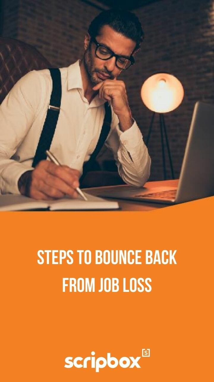 steps to bounce back from job loss