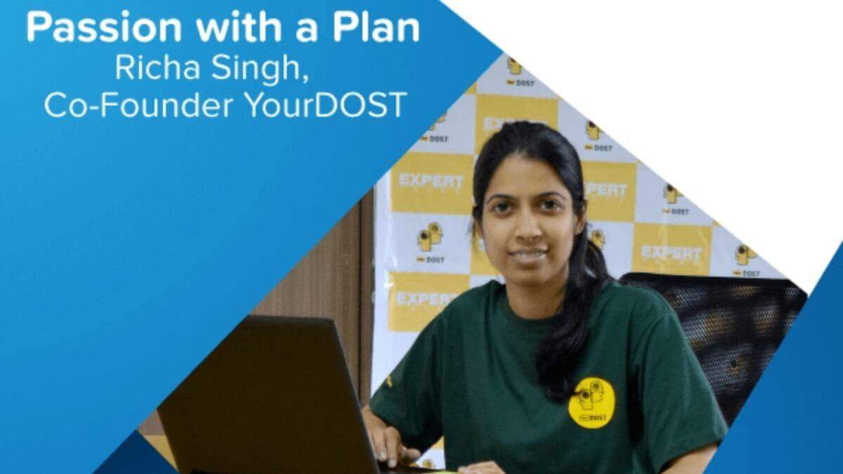 blog passion with a plan richa singh co founder yourdost Facebook