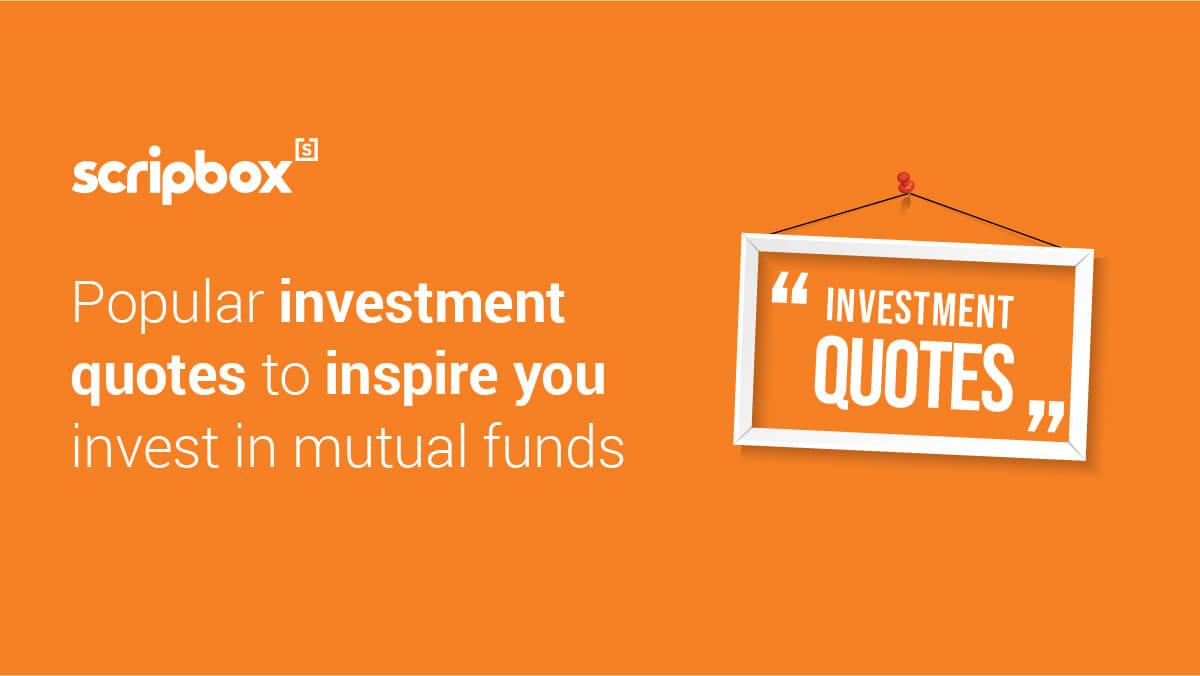 investment quotes