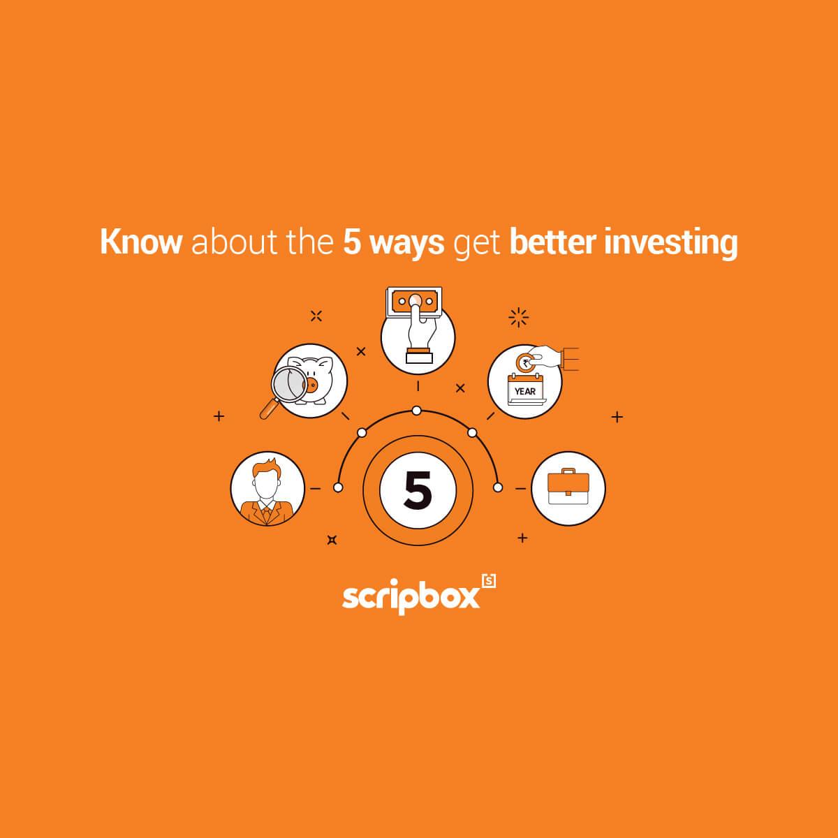 5 ways get better investing