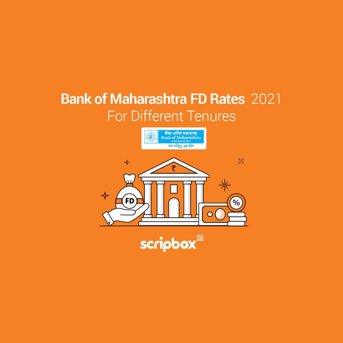 bank of maharashtra fd rates