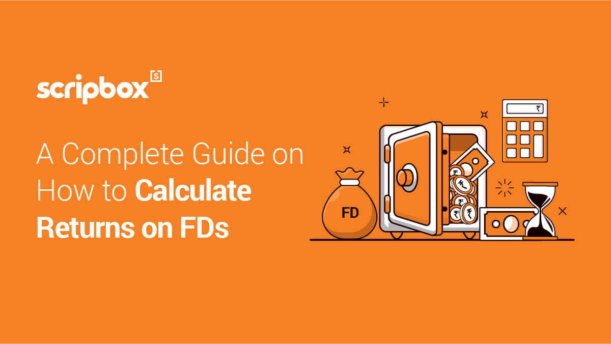 calculate returns on fd