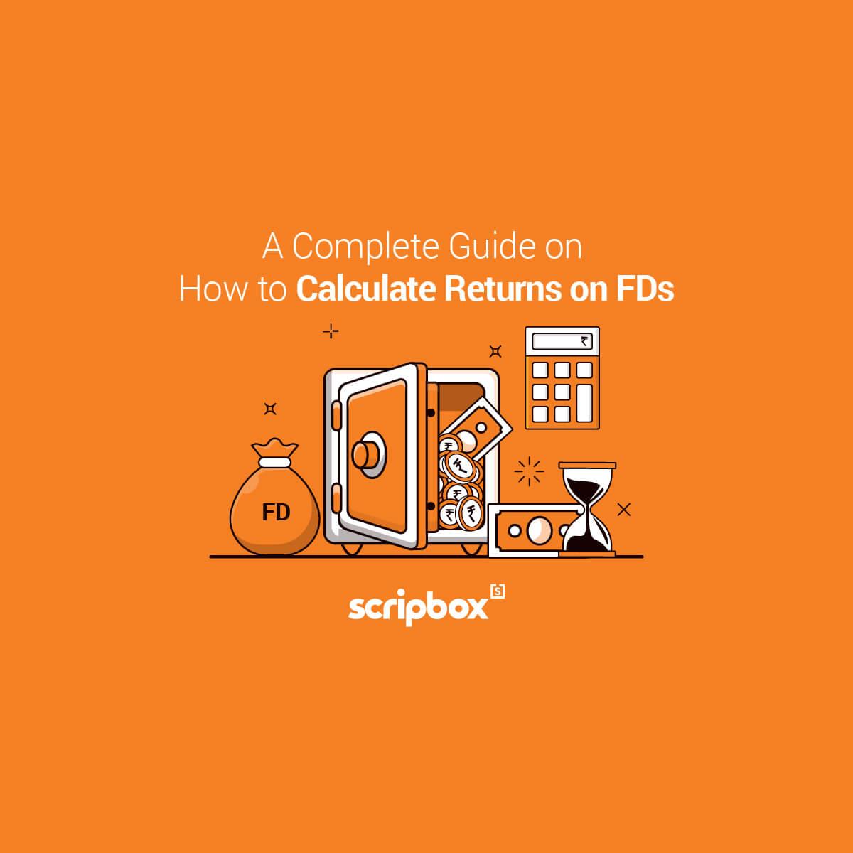 calculate returns on fd