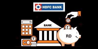 hdfc rd calculator