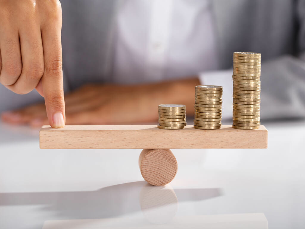 What is the issue with balanced funds?