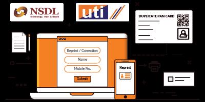 Duplicate Pan Card: Application, Reprint and Correction