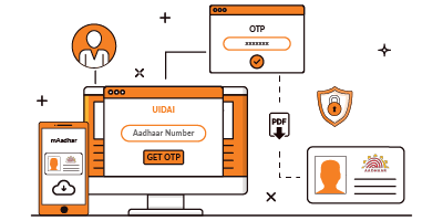 eAadhar : Procedure to Download and Check the Status