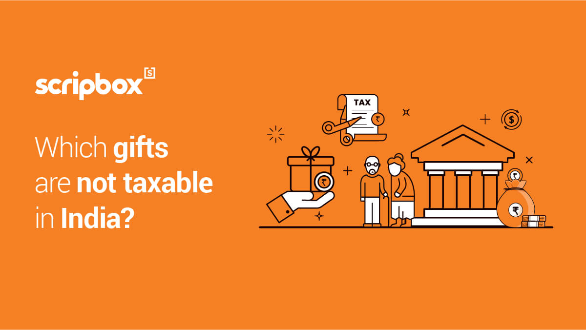 gift amount not taxable in india