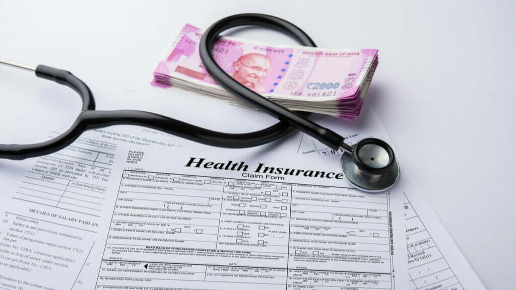 Does having a health insurance policy make you a better investor?
