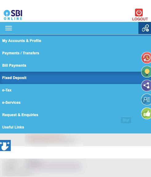 SBI Fixed Deposit Option