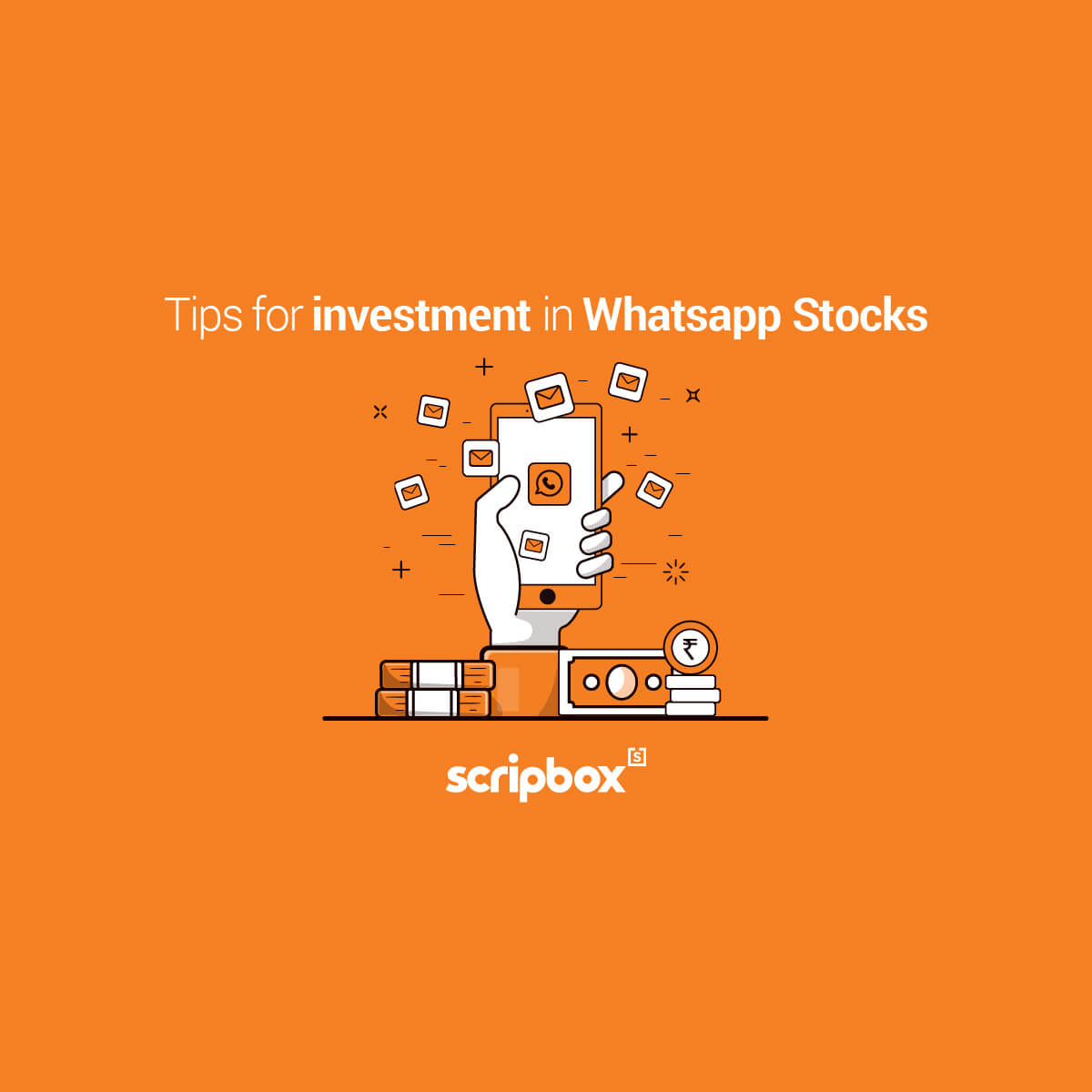 investing on sms whatsapp stock tips