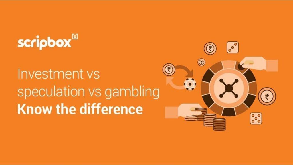Investing, Speculation And Gambling