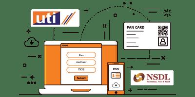 Pan Card Download : Through NSDL, UTIITSL and Aadhar Card