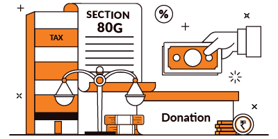 Deduction on Donation Under Section 80G of Income Tax Act, 1961