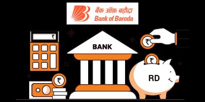 Bank of Baroda RD Interest Rates