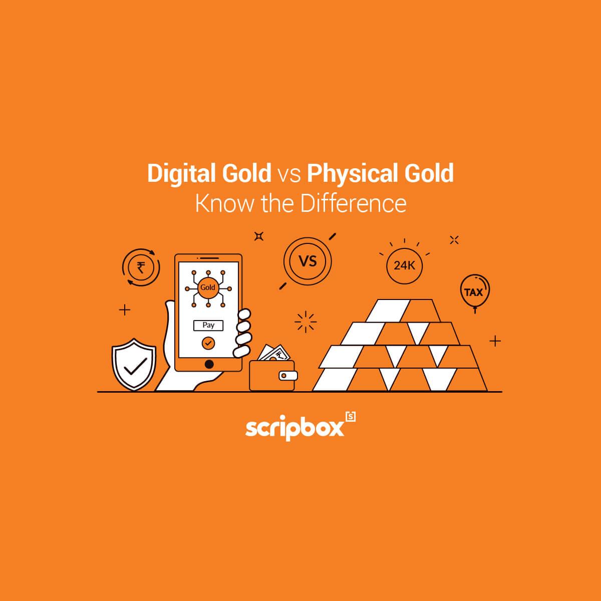 digital gold vs physical gold