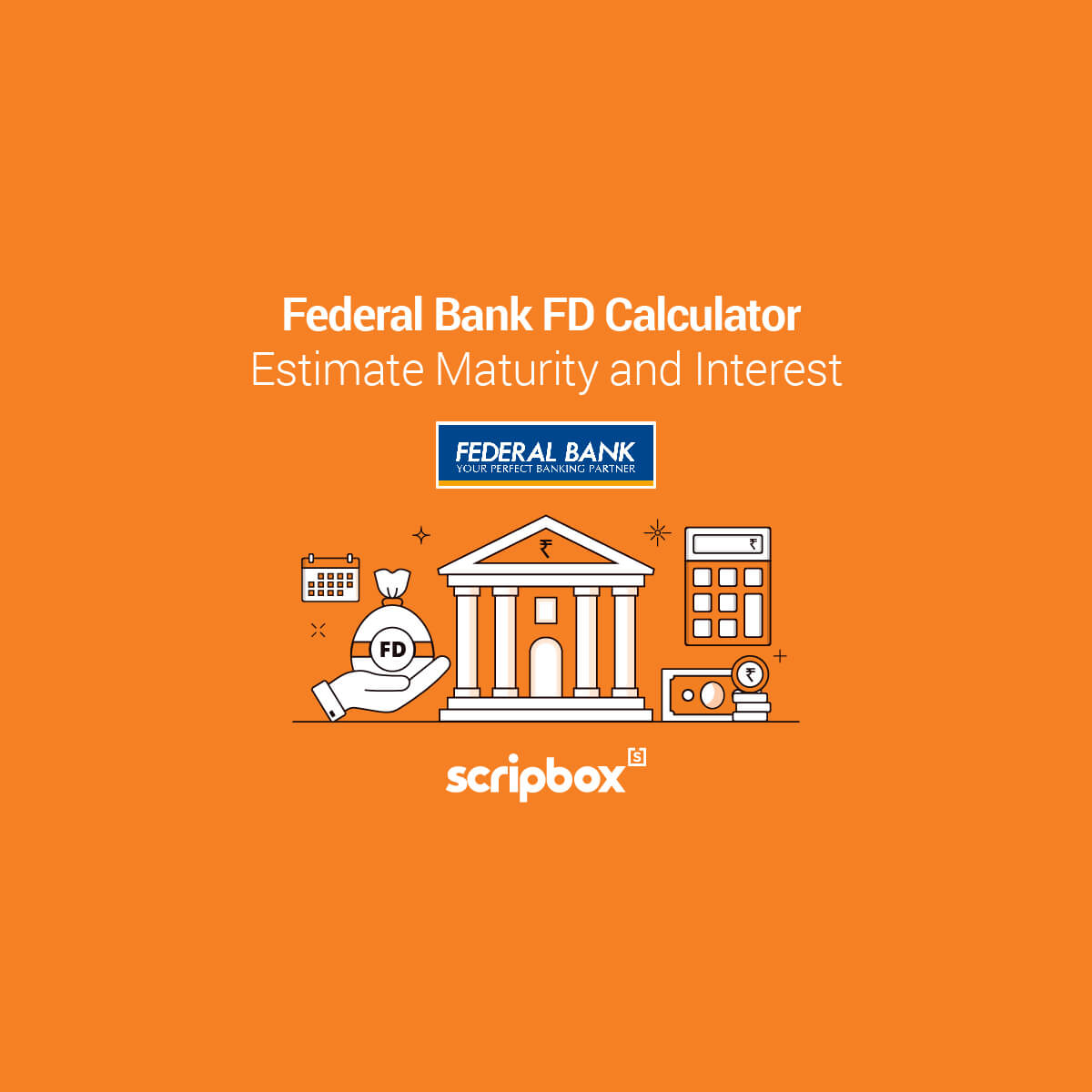 federal bank fd calculator