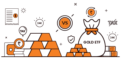 Physical Gold vs Gold ETF. Which is better?