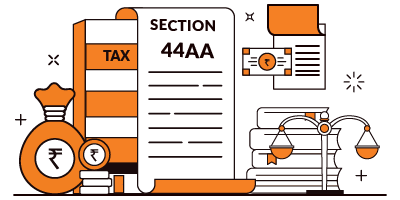 Section 44AA of Income Tax Act, 1961.