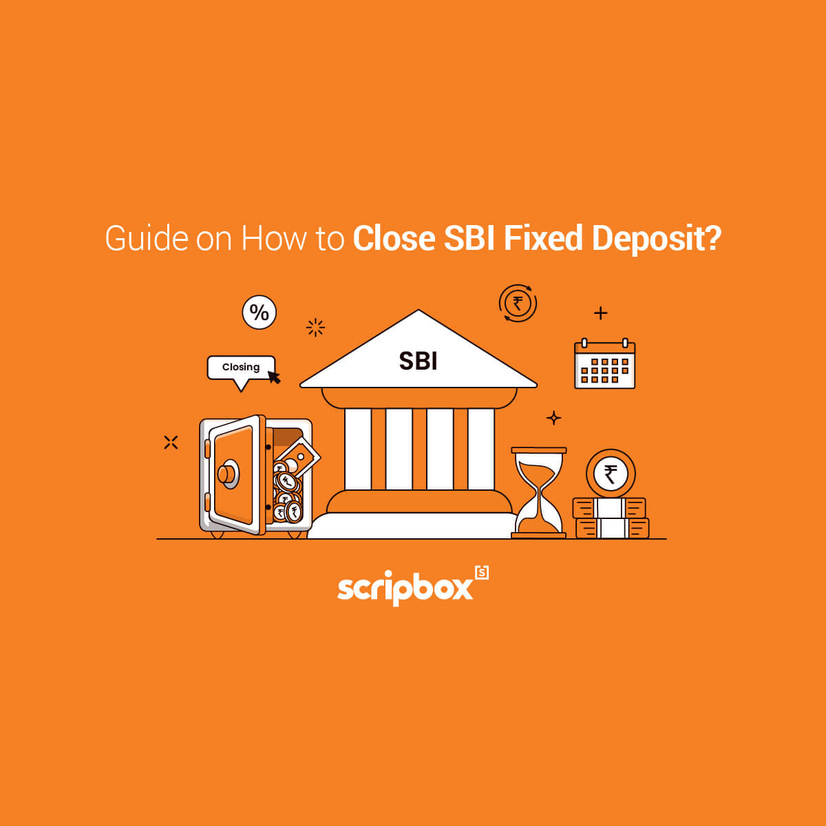 how to close sbi fixed deposit