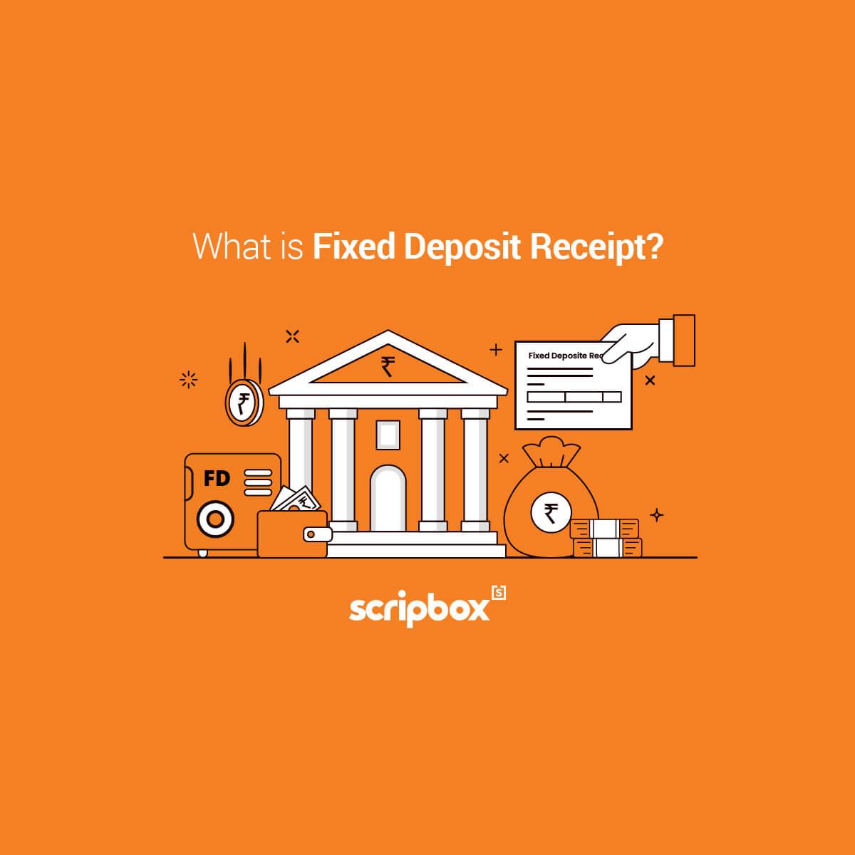 fixed deposit receipt