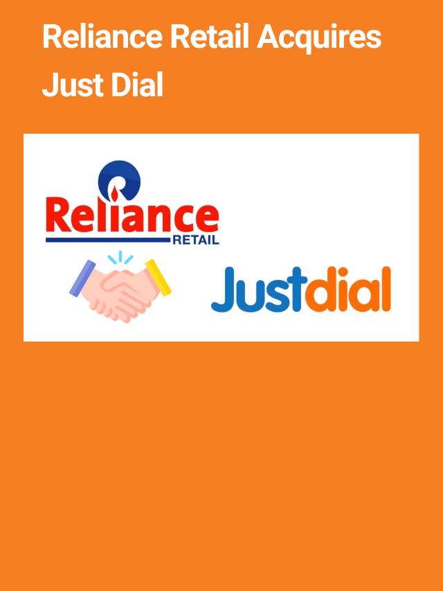 Reliance Retail Acquireds40.95% Stake In Just Dial   Scripbox