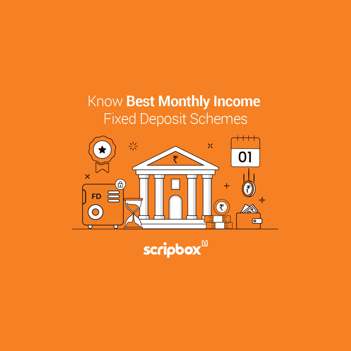 best monthly income fixed deposit scheme