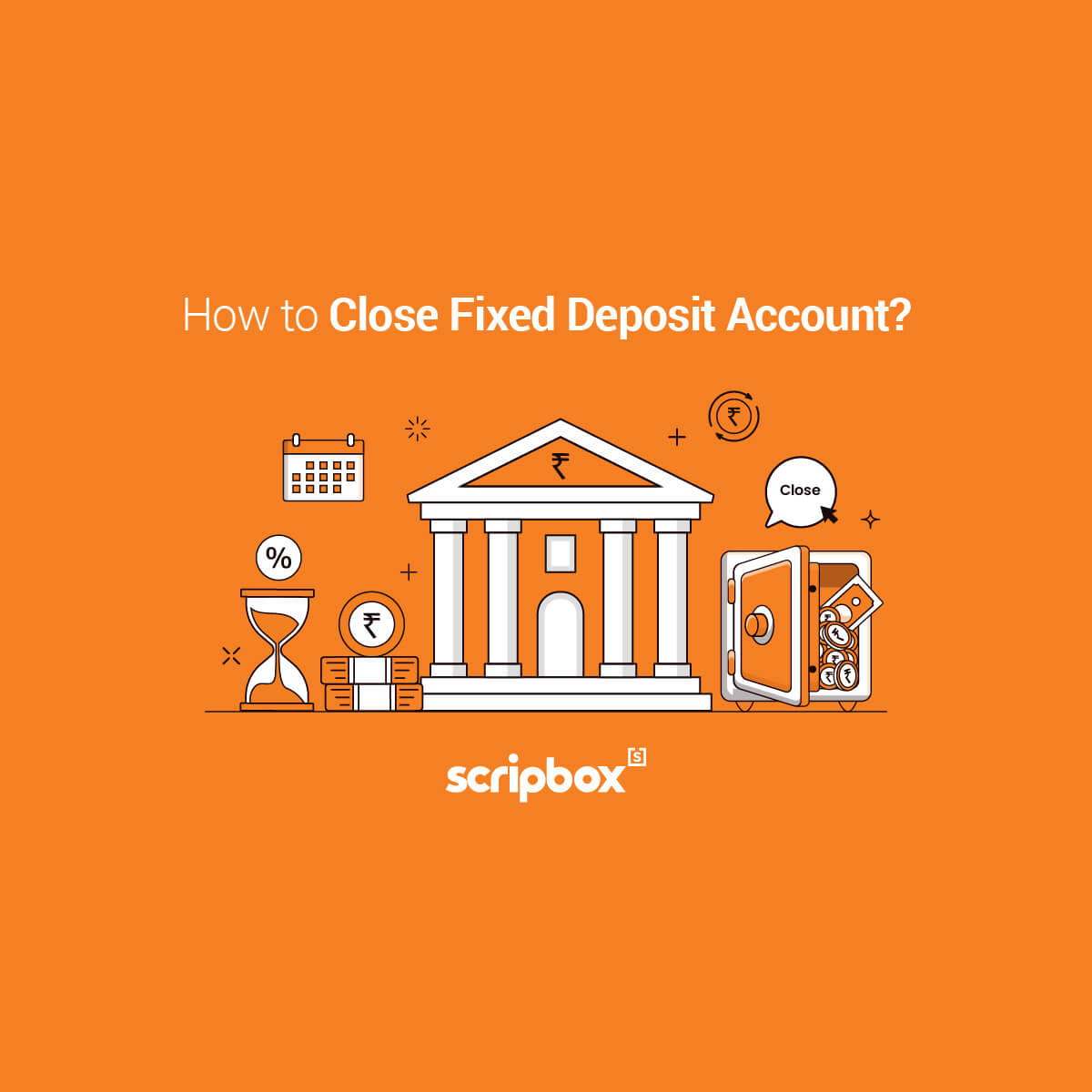how to close fixed deposit account