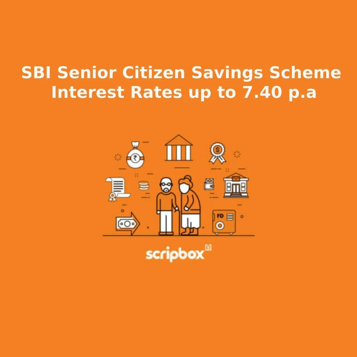 SBI Senior Citizen Savings Scheme Interest Rate